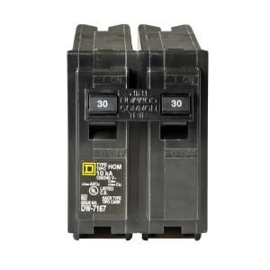 Square D by Schneider Electric Homeline 30 Amp Two Pole Circuit Breaker HOM230CP