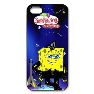 SpongeBob Squarepants iPhone 5 5s Case Cover with High Quality Cell Phones & Accessories