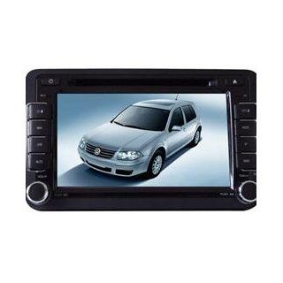 Eagle for 2008 2012 VW Scirocco Car GPS Navigation DVD Player Audio Video System with Radio (AM/FM), Bluetooth Hands Free, USB, AUX Input, (free Map), Plug & Play Installation  In Dash Vehicle Gps Units  GPS & Navigation