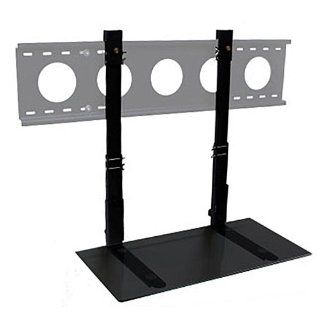 Simple Shelving Solutions BLG 00024 2 Foot Shelf for Stationary or Tilt TV Wall Mounts, Black Glass/32 40 Electronics