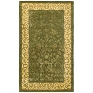 Safavieh Silk Road Spruce and Ivory 3 ft. x 5 ft. Area Rug SKR213A 3