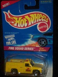 Fire Squad Series #2 Rescue Ranger Condition Mattel Hot Wheels #425 164 Scale Toys & Games