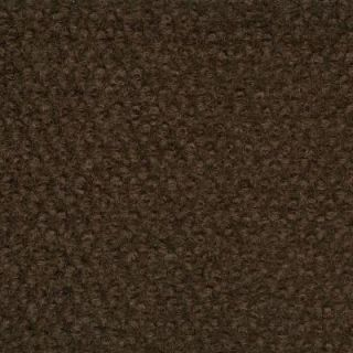 TrafficMASTER Long Weekend   Color Brown Indoor/Outdoor 12 ft. Carpet CN17N30X144H