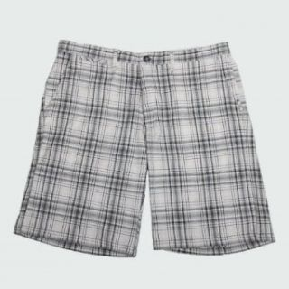 WeatherProof Mens Casual Plaid Shorts at  Men�s Clothing store