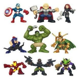 Super Hero Squad THE AVENGERS 2012 Movie Collection Toys & Games