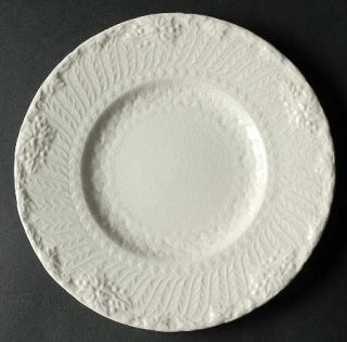 Royal Cauldon Old Chester Salad Plate, Fine China Dinnerware   Off White, Emboss