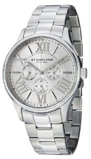 Stuhrling Original Men's 391G.01 Regent Majestic Quartz Multifunction Stainless Steel Watch at  Men's Watch store.