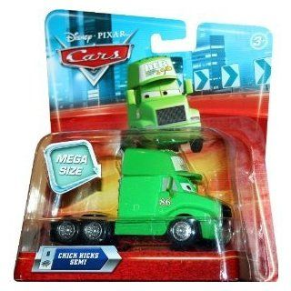 MEGA SIZE CHICKS HICKS SEMI #8 Disney / Pixar CARS 155 Scale Vehicle‏ Toys & Games