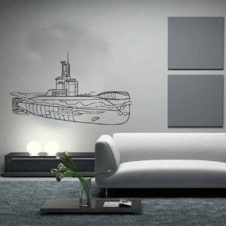 Coastal Submarine U boot Type 206a Wall Decor Vinyl Decal Sticker D 437