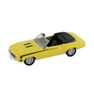 1969 Chevy SS 396 Camaro Yellow (Die Cast) HO Scale Model Power Toys & Games