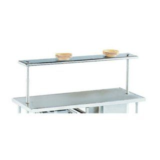 "Advance Tabco PT 18 48 48"" Table Mount Shelf   1 Deck, Mid Mount, 18"" W, Stainless, Each   Floating Shelves"