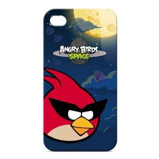 Gear4 ICAS401G Angry Birds Space Case for iPhone 4S   Retail Packaging   Red Cell Phones & Accessories