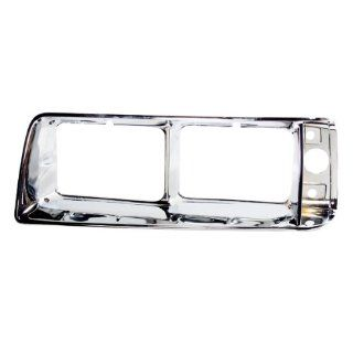 CarPartsDepot, Headlamp Door Chrome Head Light Bezel Left (Driver Side) Replacement, 402 16337 01 CH1212102 4334609 Automotive