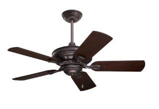 Emerson CF442ORB Bella Indoor Ceiling Fan, 42 Inch Blade Span, Oil Rubbed Bronze Finish and All Weather Oil Rubbed Bronze Blades   Close To Ceiling Light Fixtures
