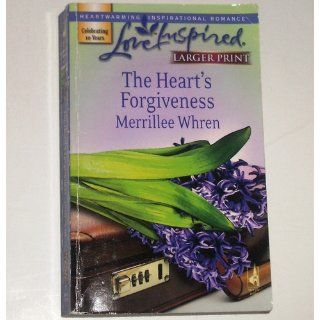 The Heart's Forgiveness (The Reynolds Brothers, Book 2) (Larger Print Love Inspired #406) Merrillee Whren 9780373813209 Books
