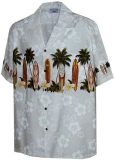 Surf Board Hawaiian Shirts   Mens Hawaiian Shirts   Aloha Shirt   Hawaiian at  Men's Clothing store Button Down Shirts