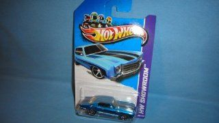 HOT WHEELS 164 SCALE #239 OF 250 2013 HW SHOWROOM RELEASE 1970 BLUE MONTE CARLO SS 454 DIE CAST COLLECTIBLE Toys & Games