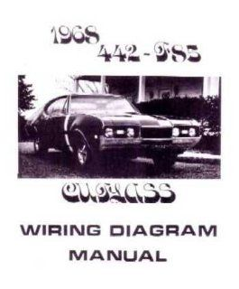 1968 OLDSMOBILE 442 CUTLASS F 85 Wiring Diagrams Automotive