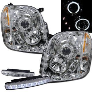 Gmc Yukon Xl 1500 2500 Halo Projector Headlights + 8 Led Fog Bumper Light Automotive