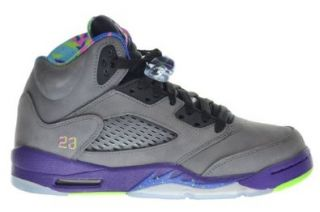 "Air Jordan 5 Retro (GS) ""Bel Air"" Fresh Prince Big Kids Shoes Cool Grey/Club Pink Court Purple Game Royal 621959 090 (Size 6.5) Basketball Shoes Shoes"