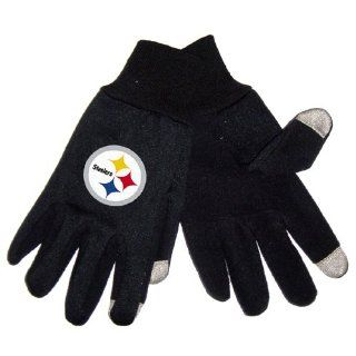 BSS   Pittsburgh Steelers NFL Technology Gloves (Pair) Work Gloves