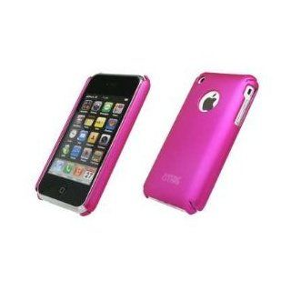 Premium Hot Pink Rubberized Snap Slide On Back Cover Case Protector for Apple iPhone 3G 8GB 16GB / 3G S 16GB 32GB [EMPIRE Brand] Cell Phones & Accessories