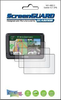 "3x Garmin nuvi 465 465T 465LT 465LM 465LMT T LT LM LMT 4.3"" GPS Premium Clear LCD Screen Protector Cover Guard Shield Protective Film Kits (Package by GUARMOR) GPS & Navigation"