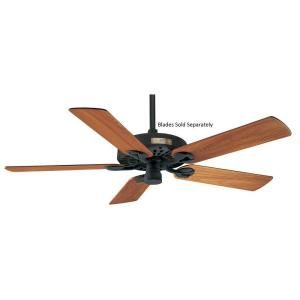 Hunter Original 52 in. Textured Black Damp Rated Ceiling Fan 25601