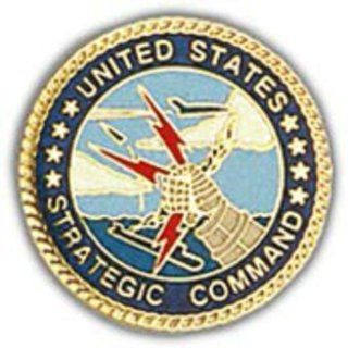"U.S. Air Force Strategic Air Command Pin 1"" Sports & Outdoors"