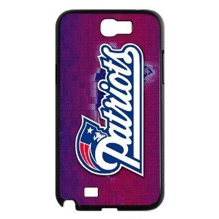 NFL New England Patriots Galaxy Note 2 Case Hard Plastic NFL Patriots SamSung Galaxy Note 2 N7100 Cover HD Image Snap ON Electronics