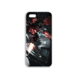 Diy Apple iPhone 5S Phone Case Personalized Gift Games Action Adventure Games Ironhide Transformers War for Cybertron White Cell Phones & Accessories