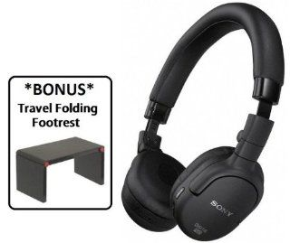 Sony MDR NC200D Digital Noise Canceling Headphones with **BONUS** Travel Folding Footrest Electronics