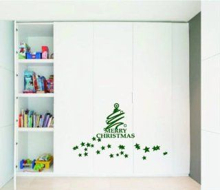 Large  Easy instant decoration wall sticker wall mural  Merry Christmas tree   Home Decor Products