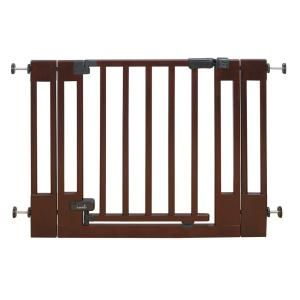 Summer Infant Sure and Secure Deluxe Top of Stairs Wood Walk Thru Gate 07840