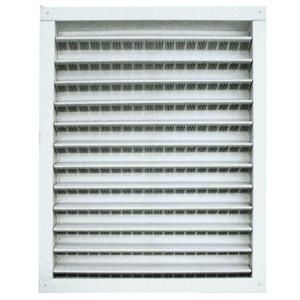 Master Flow 14 in. x 24 in. Aluminum Wall Vent in Mill DA1424