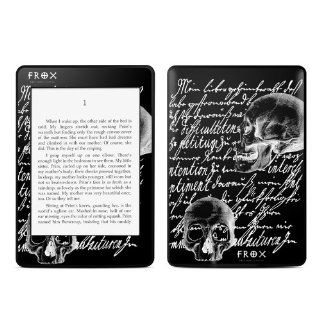 Liebesbrief Black Design Protective Decal Skin Sticker for  Kindle Paperwhite eBook Reader (2 point Multi touch)  Players & Accessories