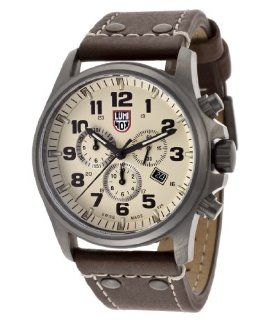 Luminox Men's 1947 Atacama Field Brown/Beige Genuine Leather Watch at  Men's Watch store.