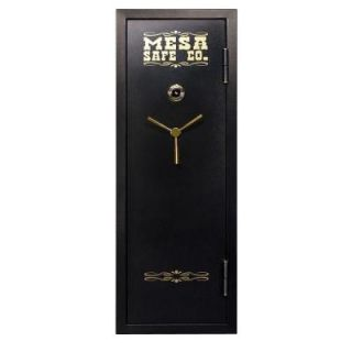 MESA 14 Gun 7.6 cu. ft. Fire Resistant Combination Lock Capacity Gun Safe MBF5922CCSD
