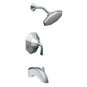 MOEN Felicity Posi Temp Tub & Shower Trim Kit in Chrome (Valve not included) TS344