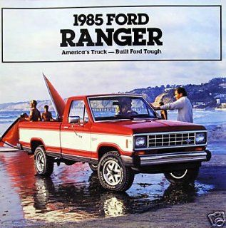 1985 Ford Ranger pickup truck vehicle brochure