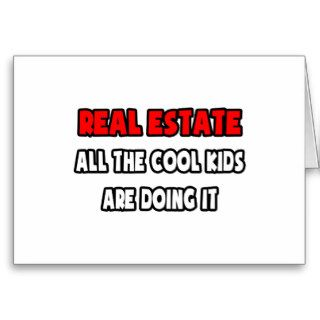 Funny Realtor Shirts and Gifts Greeting Cards