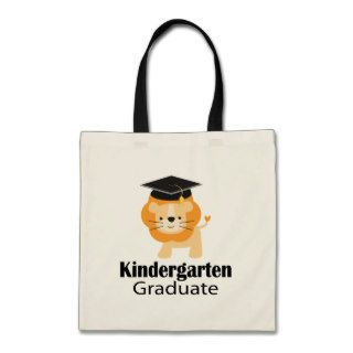 Cute Lion Kindergarten Graduation Gift Canvas Bags