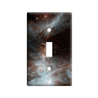 Orion Nebula   Galaxy Universe   Plastic Wall Decor Toggle Light Switch Plate Cover