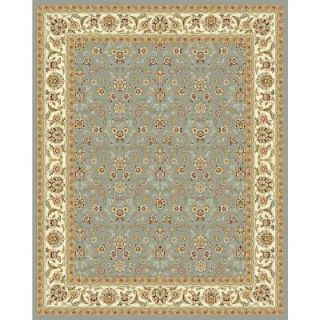 Safavieh Lyndhurst Light Blue/Ivory 8.9 ft. x 12 ft. Area Rug LNH312B 9