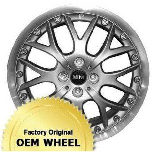 MINI COOPER COOPER 17X7 WEBBED DESIGN Factory Oem Wheel Rim  MACHINE LIP SILVER   Remanufactured Automotive