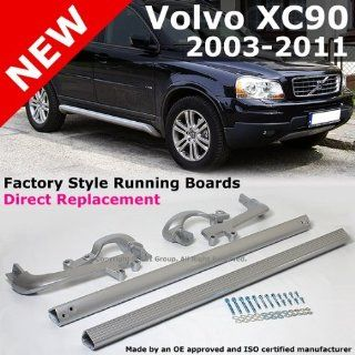 2003 to 2012 Volvo Xc90 Aluminum Sport Running Board Side Step Bars Left and Right Automotive
