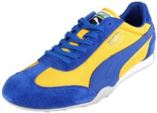 Puma Mirage 76 Nylon Men`s Fashion Sneaker   Spectra Yellow/Limoges (11) Shoes