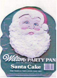 Wilton Cake Pan Santa Claus (502 2308, 1979) Kitchen & Dining