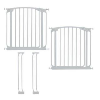 Dreambaby Chelsea Swing Closed Gate Value Pack in White L786W