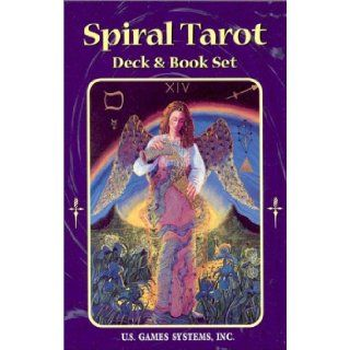 Spiral Tarot Deck & Book Set 78 Card Deck [With Book] Kay Steventon 9781572811270 Books